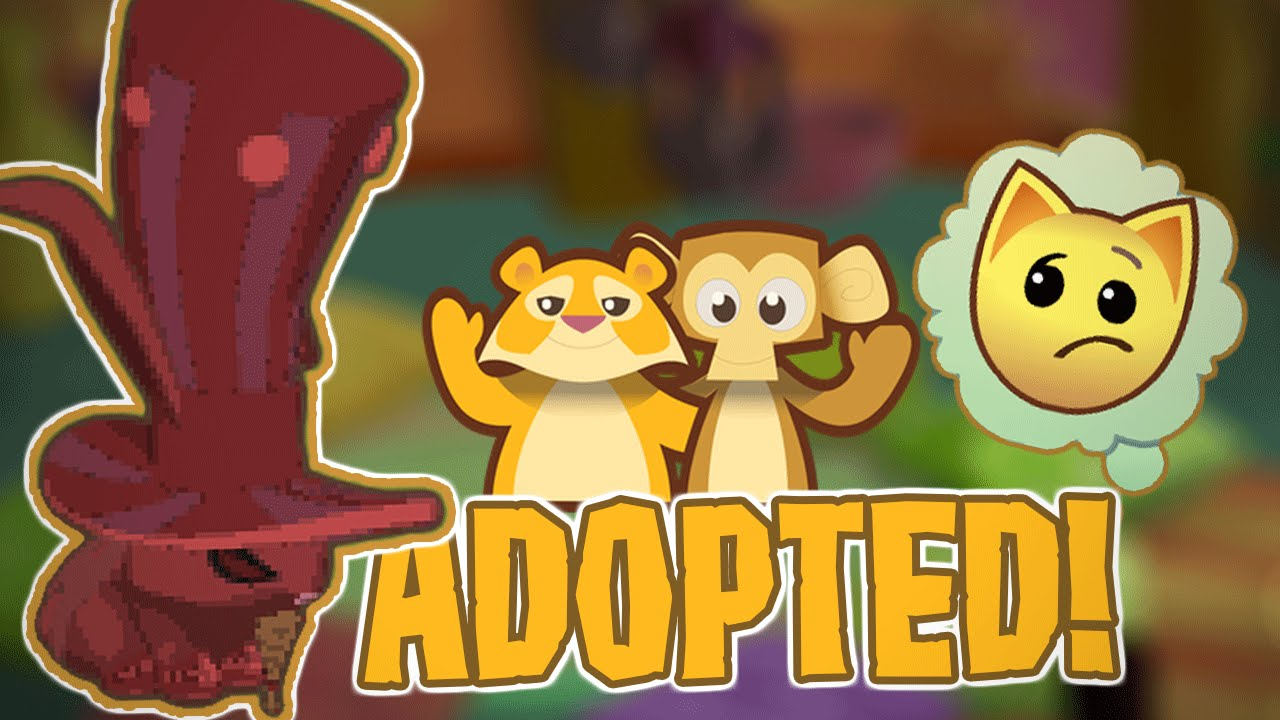 GETTING ADOPTED IN ANIMAL JAM! - YouTube