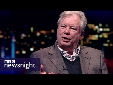 Nobel Prize: 'Nudge' economist Richard Thaler - Newsnight Archives (2010)