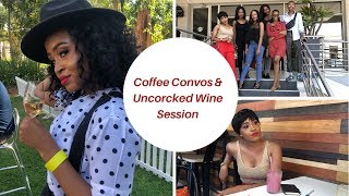 VLOG: Coffee Conversations & Uncorked Wine Session