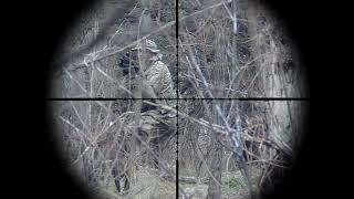 Воскресная игра на полигоне Волна. Sniper in Airsoft.