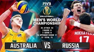 Russia vs. Australia | Highlights | Mens World Championship 2018