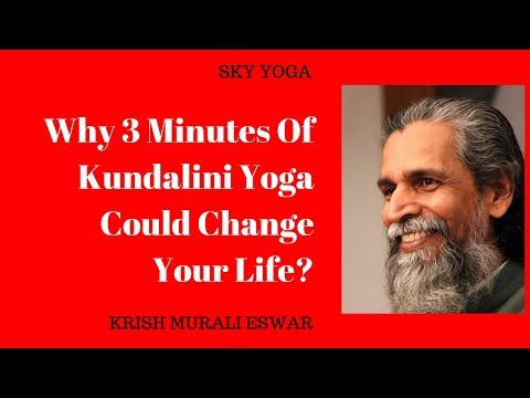 Why 3 Minutes Of Kundalini Yoga Could Change Your Life?