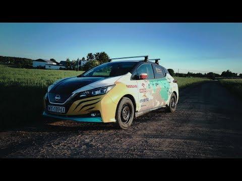 Explorer drives 16,000 km across Eurasia in Nissan LEAF