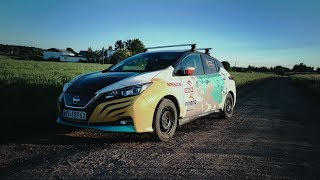 Explorer drives 16,000 km across Eurasia in Nissan LEAF