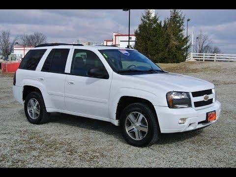 2009 Chevrolet Trailblazer Lt Summit White For Sale Dealer Dayton Troy Piqua Sidney Ohio Cp13841t Youtube