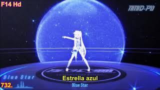 MMD Blue star v.24 sub.español 60fps
