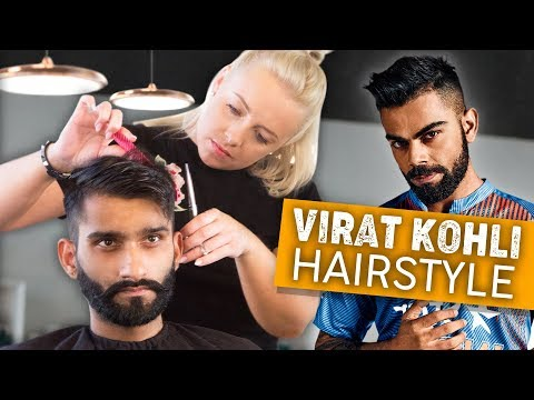 Virat Kohli Haircut 2018 | Best mens Indian Hairstyles | By Vilain products