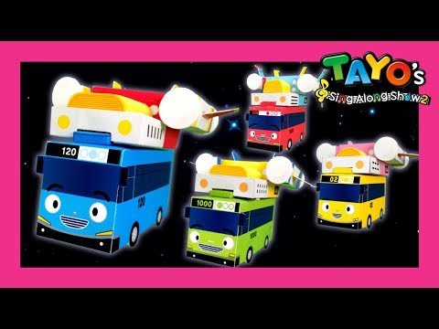Tayo Adventures in Space l Tayo's Sing Along Show l Tayo the Little Bus