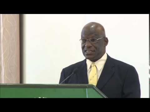 Queens Counsel Dr. Francis Alexis delivered the Feature Address