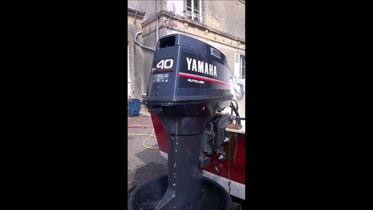 Moteur Yamaha 40 Cv Youtube