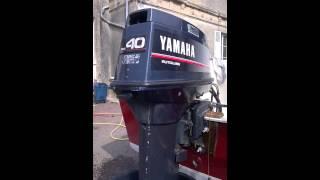 Moteur Yamaha 40 cv