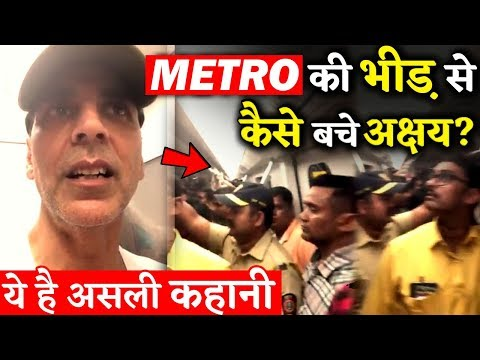 How No One Recognized Akshay Kumar in Mumbai Metro? This Is The Real Story!