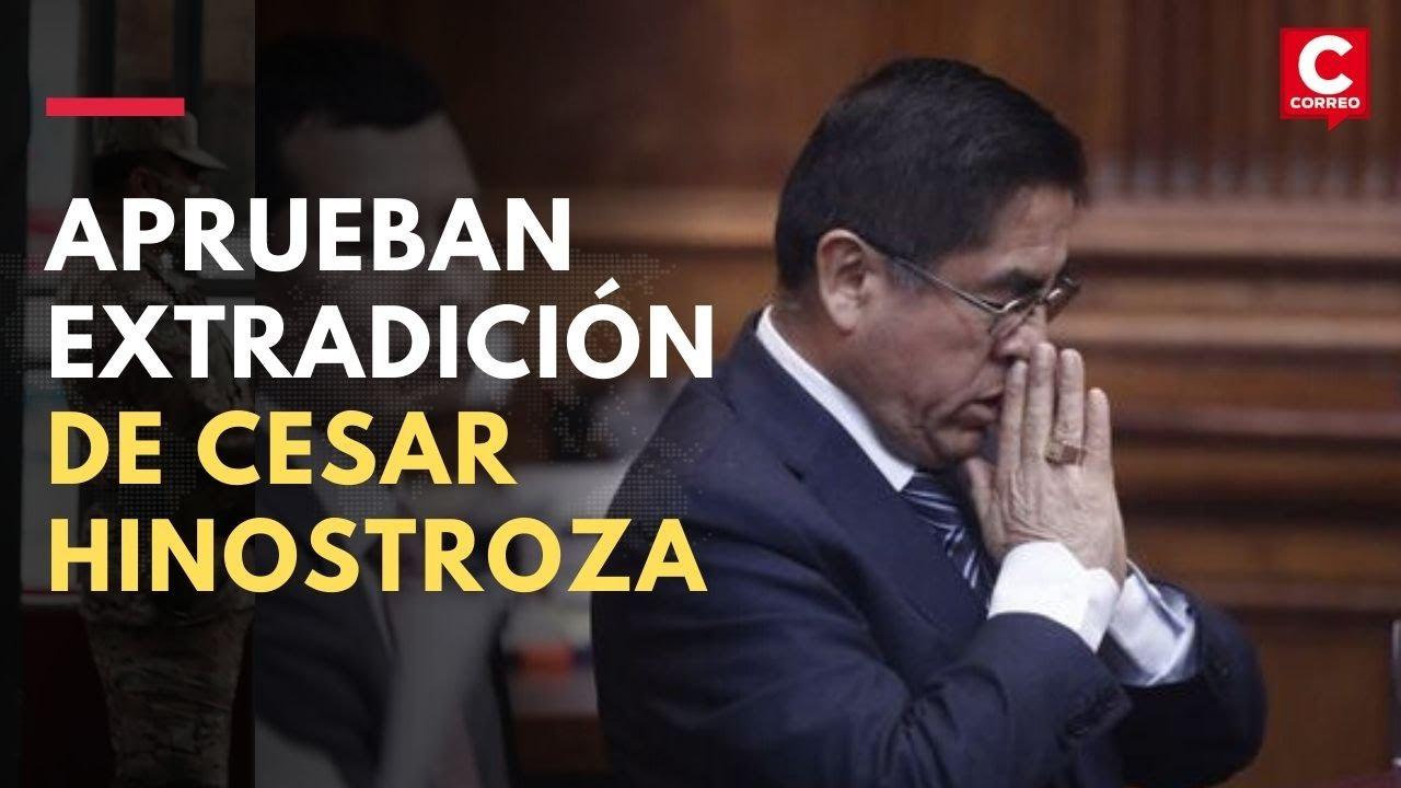 Hinostroza afirmó que acatará decisión del gobierno de España que aprobó su extradición