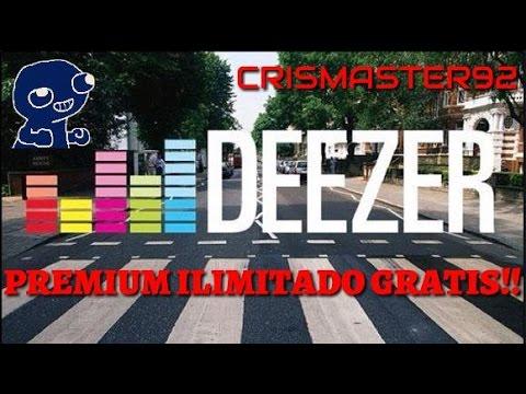 DEZZER PREMIUM GRATIS ILIMITADO!!
