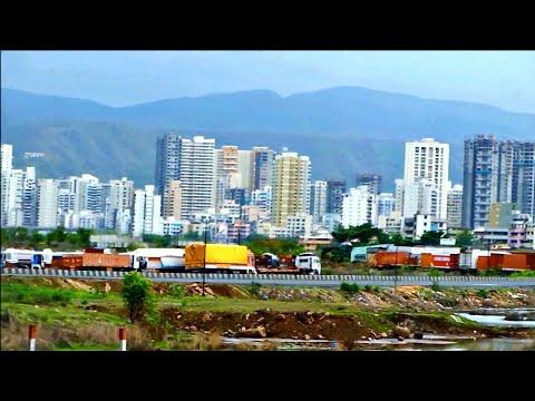 Indian Mega cities | New Mumbai Skyline | Kharghar Panvel Kalamboli