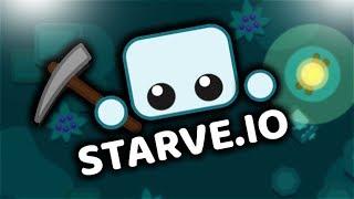 Не голодаем в голодайке! Starve.io ⚙ стрим с подписчиками