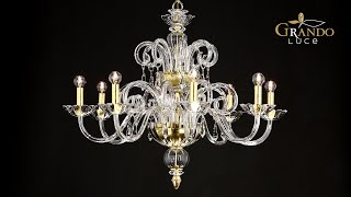 Venere Collection Crystal Chandeliers Video
