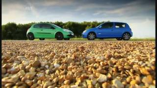 Fifth Gear Renault Clio 200 vs 182