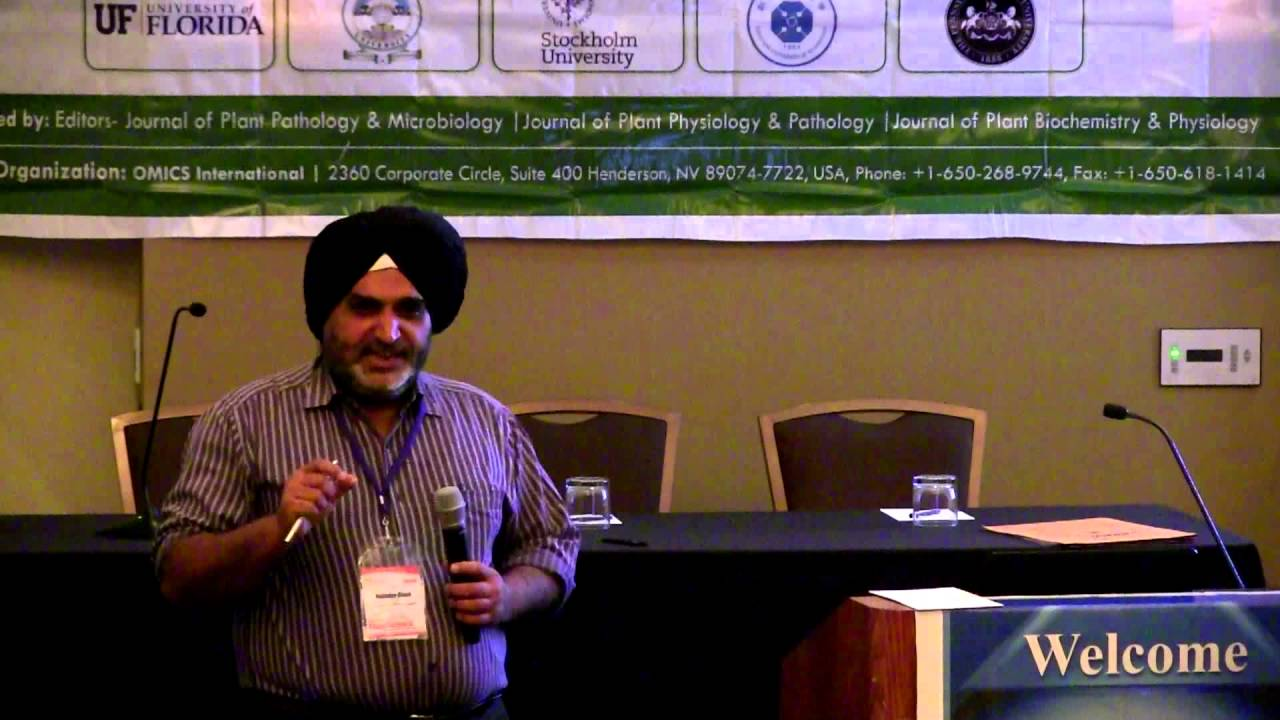 Rajinder Singh | Malaysia | Plant Science 2015 | Conference Series LLC