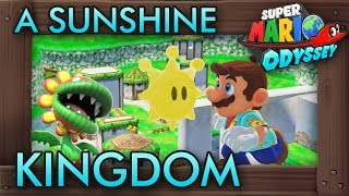 Incredible MARIO SUNSHINE Kingdom in Super Mario Odyssey