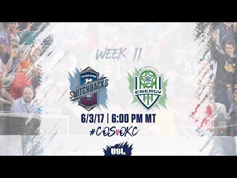 USL LIVE - Colorado Springs Switchbacks FC vs OKC Energy FC 6/3/17
