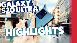 Samsung Galaxy S20 Ultra 5G - Unsere Highlights aus Frankfurt