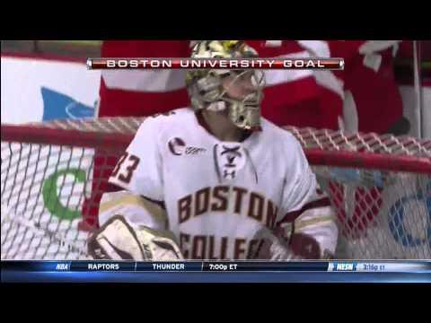 Boston University vs. Boston College - WHEA Championship Highlights - 03/08/2015