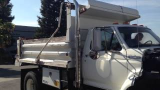 1995 Ford F800 5-7 Yard Dump for sale