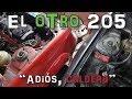 PePeugeot 205 GTi-6 / RFS Restomod #3: Cómo sacar el motor 1.9TD y el otro 205