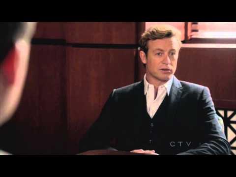 "Jane, Lisbon, Bertram and the FBI 5x01 scene - ""You son of a bitch!"""