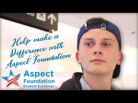 Help make a Difference with Aspect Foundation!