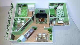 DIY Miniature LIME DREAM DOLLHOUSE