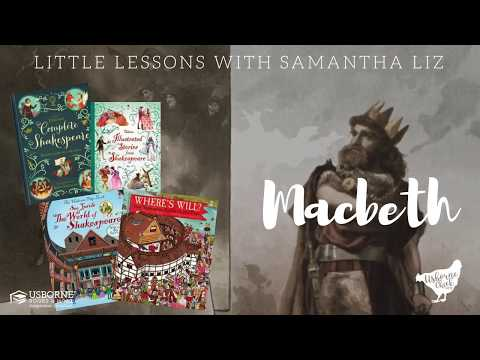 Little Lessons with Samantha Liz - Macbeth {Look inside our Shakespeare Books}