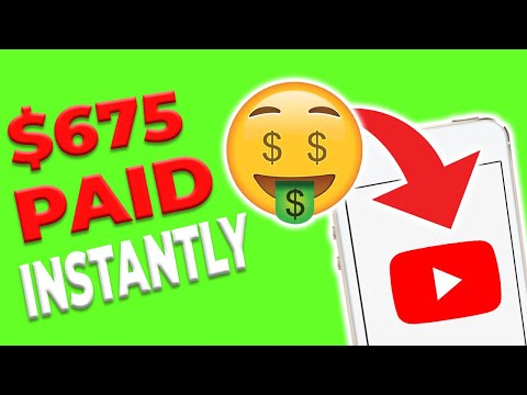 Earn $675 PER DAY WATCHING YOUTUBE VIDEOS *FREE* (Make Money Online 2021)