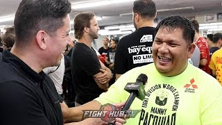 BUBOY FERNANDEZ TELLS STORY OF HOW HE MET MANNY PACQUIAO AT AGE 19