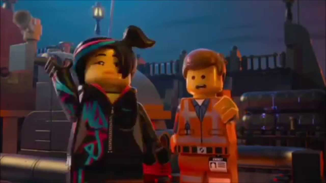 The Lego Movie Emmet And Wyldstyle Kiss