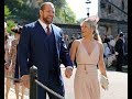 Royally raunchy: Chloe Madeley goes BRALESS in nude dress for Meghan and Harry wedding