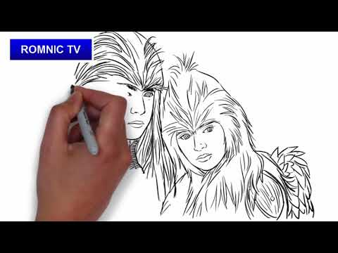 Let's draw Pagaspas and Lawiswis of Mulawin vs Ravena
