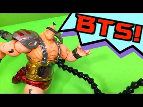TMNT 2016 Stop Motion War Machine BEHIND THE SCENES! (BTS)