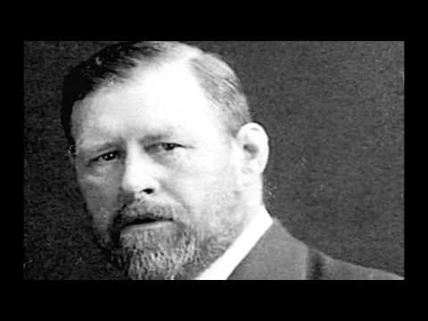 """Bram Stoker recites from """"Dracula"""" Literary discussion animation"""