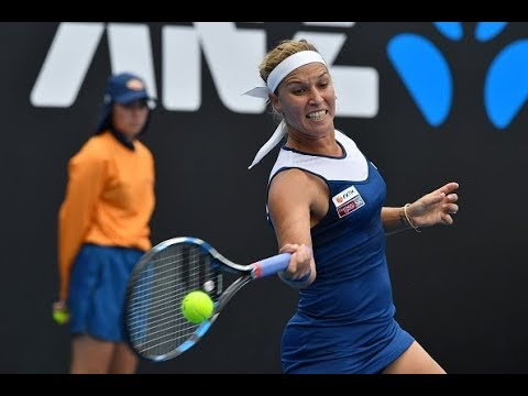 2018 Qatar Total Open First Round | Dominika Cibulkova vs. Anastasia Pavlyuchenkova | WTA Highlights