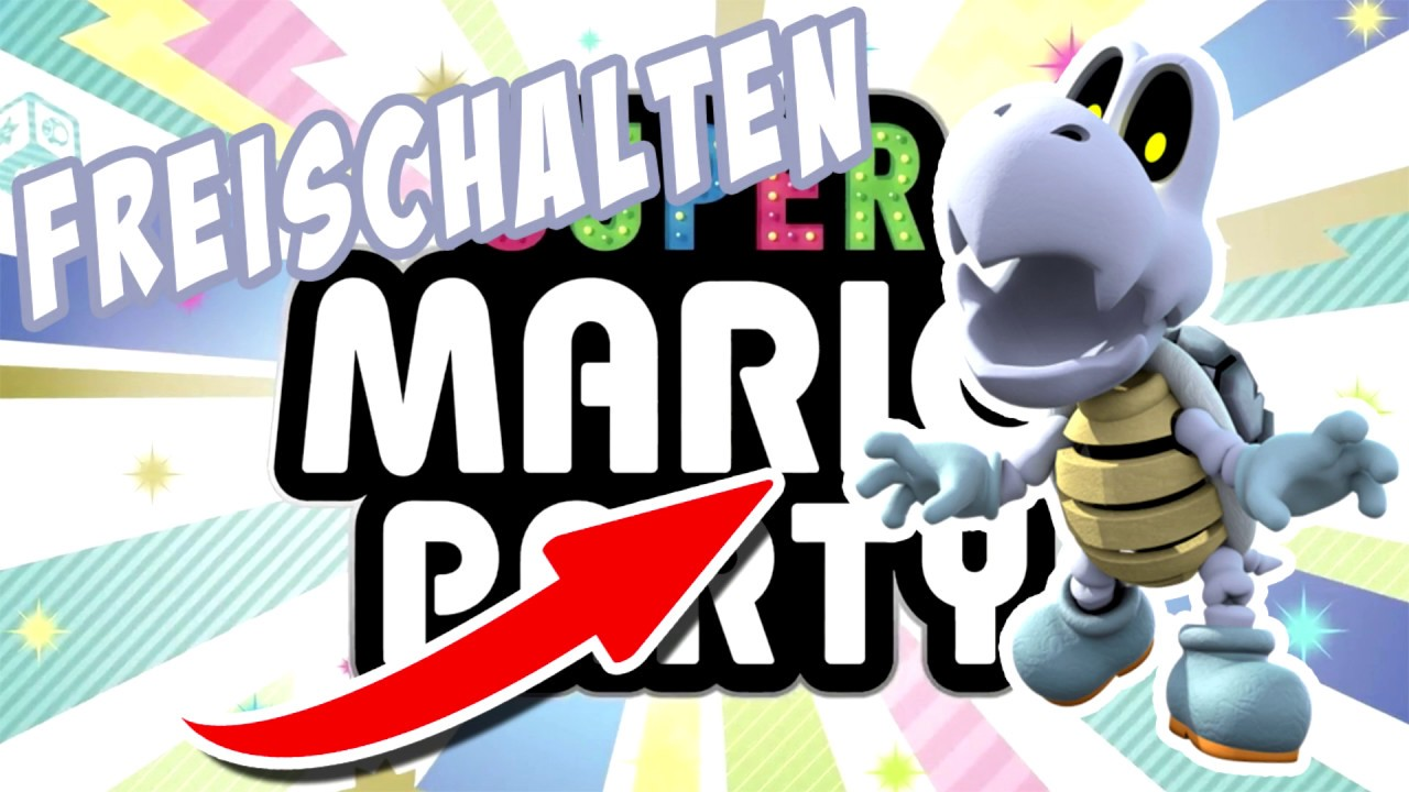 super mario party charaktere freischalten switch