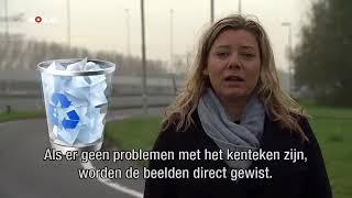 NOS-verslaggever Marjolein Hogervorst legt uit wat de politie met de camera's kan