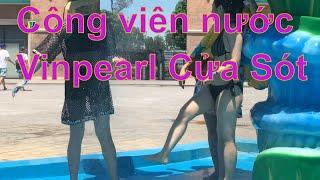 Công viên nước Vinpearl Cửa Sót có đẹp hơn công viên nước Hồ Tây và Vinpearl Nha Trang hay Vinp