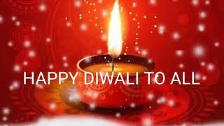 Happy diwali 2017 GIF, whatsapp status video, animated video, wishes