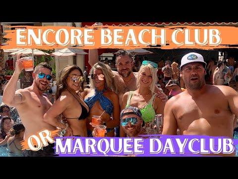 Download Encore Beach Club or Marquee Dayclub? Vegas dayclub review!