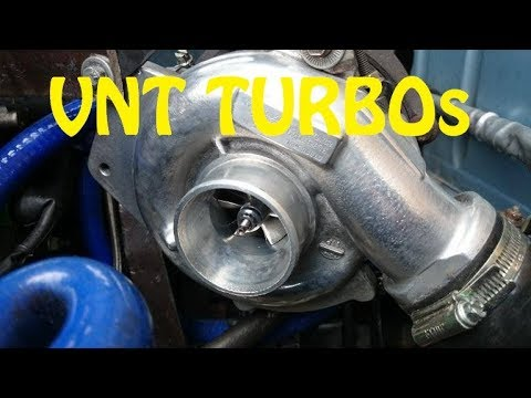 VNT turbochargers explained