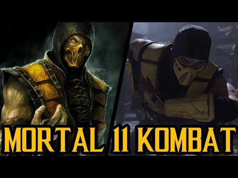Mortal Kombat 11: Two Scorpion Characters? thumbnail