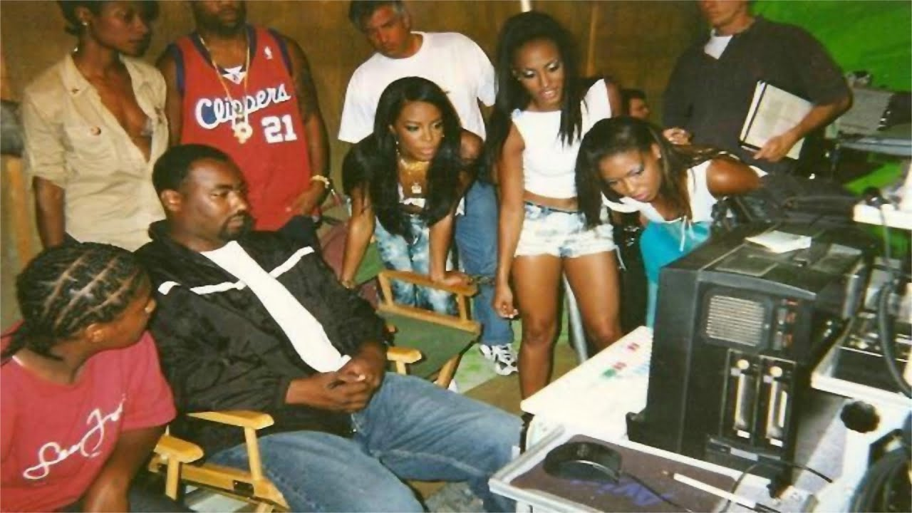 aaliyah rock the boat behind the scenes youtube