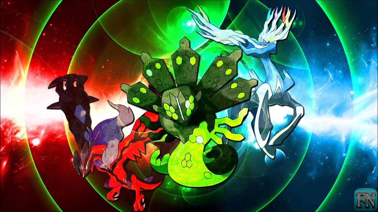 Pokemon X & Y Xerneas, Yveltal, & Zygarde Battle Theme ... Xerneas Yveltal Zygarde Wallpaper